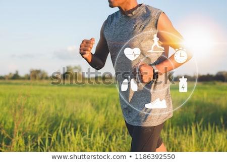 Pulse on smart watch icon. Stock photo © tkacchuk