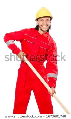 работник · человека · рук · промышленных · завода · стороны - Сток-фото © elnur