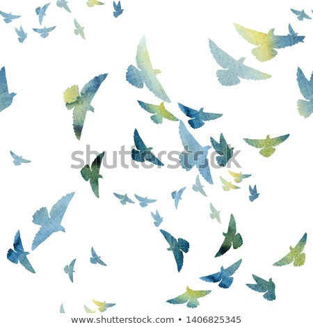 doves pattern stock photo © netkov1