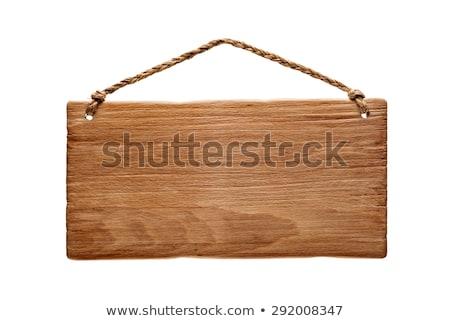 木製 ロープ コピースペース 手 木材 背景 ストックフォト © Valeriy