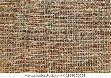 Texture high resolution of brown color of coarse cloth. Close up. Horizontal format. Stock photo © Paha_L