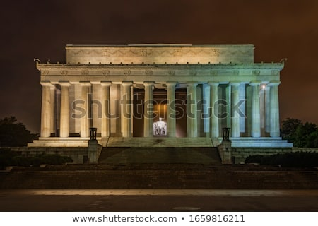 Lincoln Memorial in Washington Stock photo © meinzahn