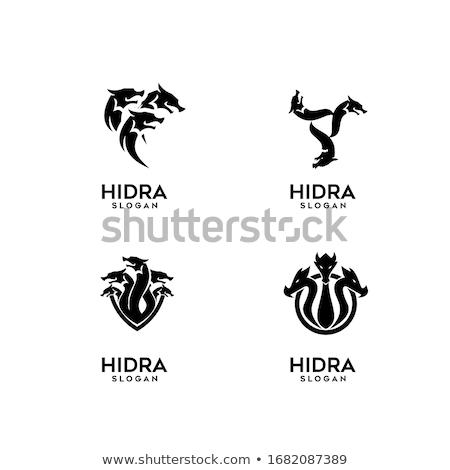 Black Hydra Illustration Stock photo © Genestro