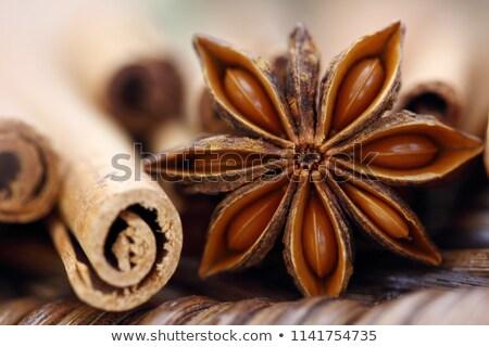 звездой анис продовольствие древесины фон приготовления Сток-фото © M-studio