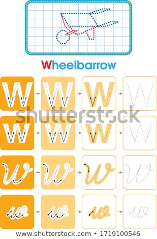 List w pracy ilustracja komputera tle sztuki Zdjęcia stock © bluering