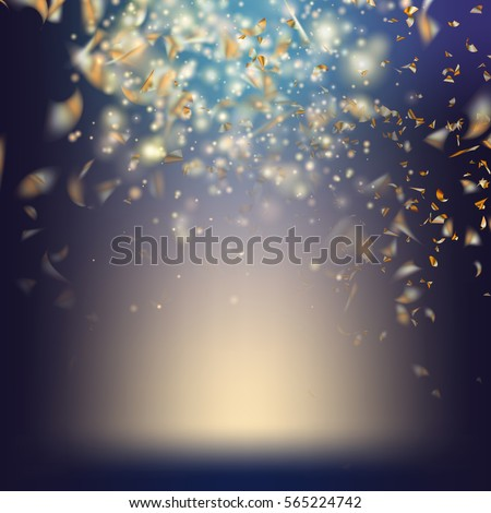 Stockfoto: Confetti · eps · 10 · vector · bestand