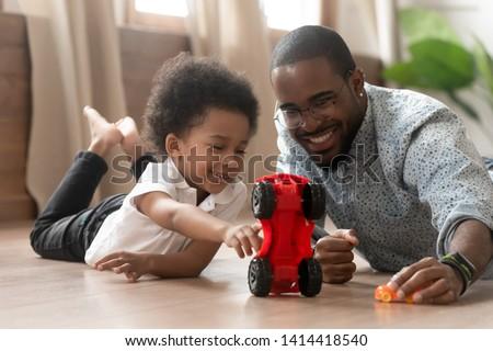 Baba bent játék teherautó gyerekek gyermek Stock fotó © monkey_business