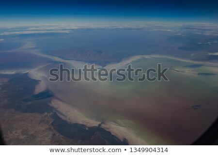Maravilhoso sal lago Irã Foto stock © JanPietruszka