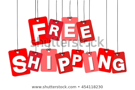 colorful free shipping tag Stock photo © get4net