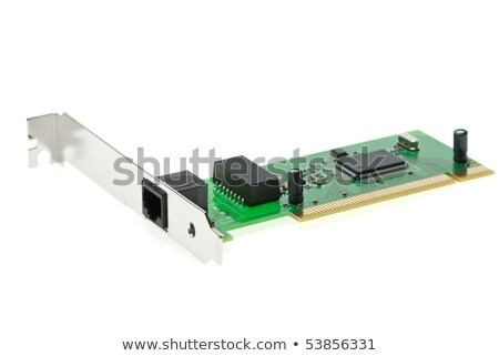 ISDN (or LAN ethernet) PCI adapter Stock photo © digitalr