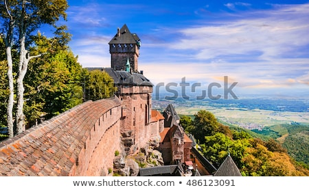Chateau du Haut-Koenigsbourg Stock photo © Melnyk