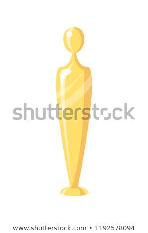Award in Human Posture Form Vector Illustration Stock photo © robuart