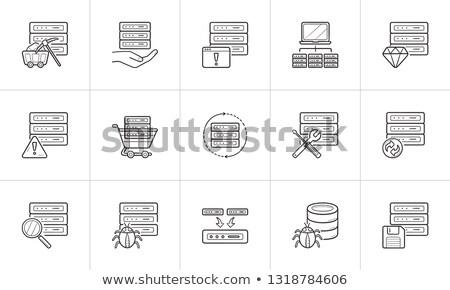 Sunucu · veri · web · hosting · yalıtılmış · hareketli - stok fotoğraf © rastudio