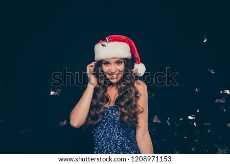 かなり 小さな エレガントな 女性 シークイン ストックフォト © pressmaster