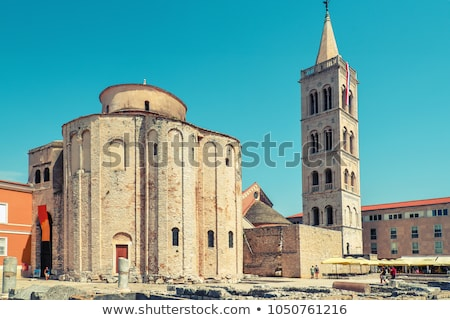 Kerk Kroatië begin stichting oude Romeinse Stockfoto © borisb17