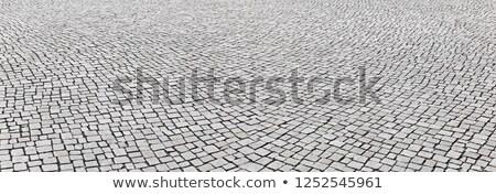 старые деревенский каменные тротуар архитектурный Сток-фото © Anneleven