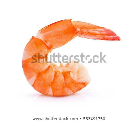 Boiled shrimps close-up Stock photo © aladin66