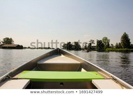 Inside a fishing boat  Stock photo © Hofmeester