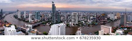 パノラマ 表示 バンコク 市 ビジネス ストックフォト © angelp