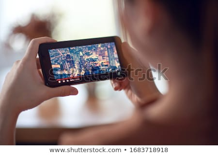 Mobile Digital Television On A Smartphone stock photo © stuartmiles