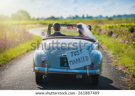 just married Stock photo © jayfish