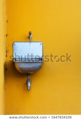 nouvelle · propre · blanche · céramique - photo stock © carloscastilla
