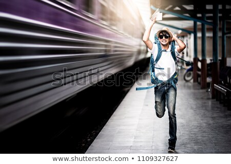 Tren ejecutando rail velocidad ejecutar Asia Foto stock © raywoo