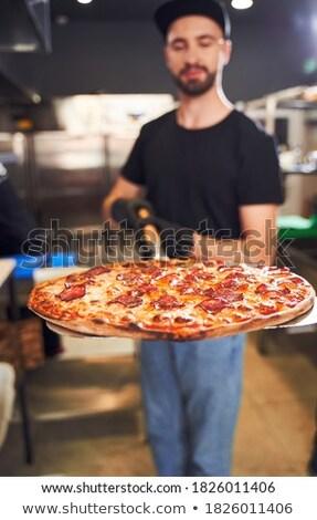 Tart héj étel otthon étterem állás Stock fotó © photography33