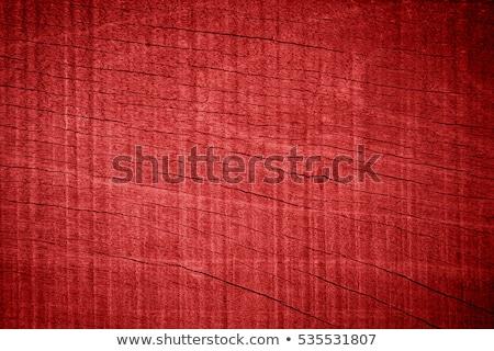 Rojo capeado puerta faro pintura Foto stock © 3523studio