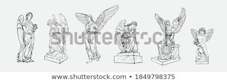 when angels cry Stock photo © dolgachov