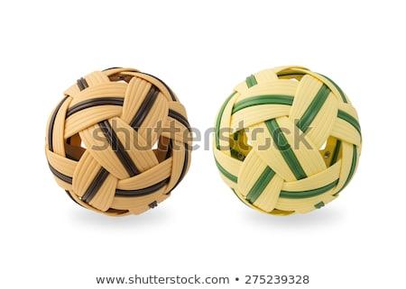 ボール 中古 アジア スポーツ アジア 白 ストックフォト © compuinfoto