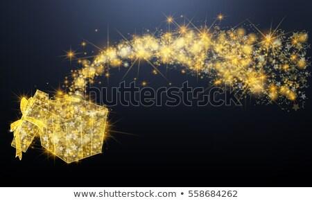Gemme oro ornamenti stelle illustrazione texture Foto d'archivio © yurkina