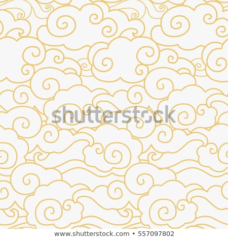 seamless chinese traditional pattern stock photo © creative_stock