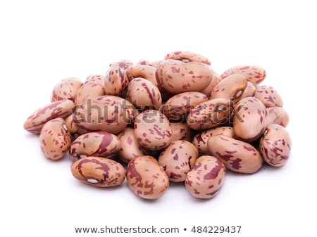 Pile of Dry Food Pinto Beans Healthy Ingredient Stock photo © cboswell