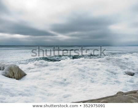dondurulmuş · okyanus · iskele · fotoğraf · plaj · Kopenhag - stok fotoğraf © olandsfokus