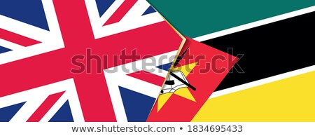 United Kingdom and Mozambique Flags Stock photo © Istanbul2009