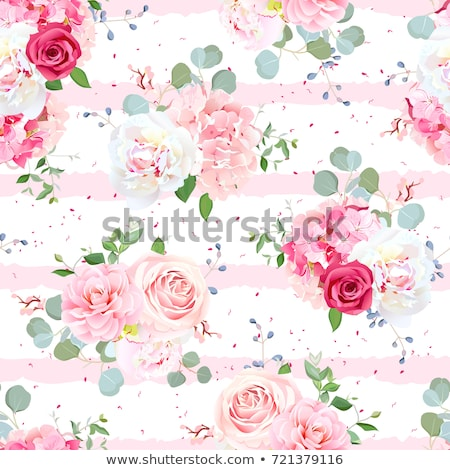 Red luxury vintage background with floral ornament Stock photo © liliwhite