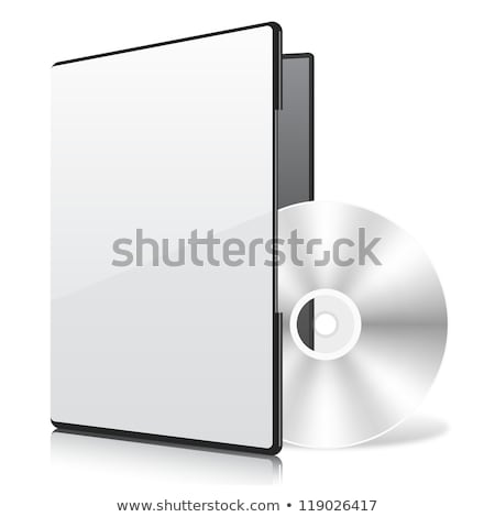 dvd box with disc stock photo © stoonn