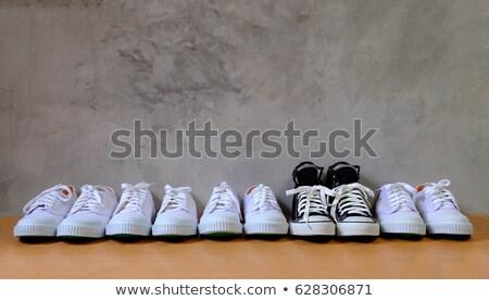 Concept for being different and standing out Stock photo © Kzenon