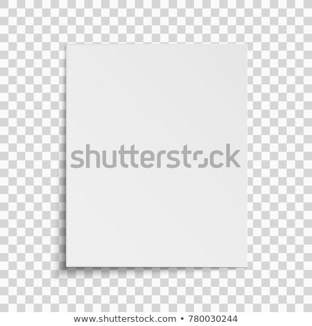 пустая страница белый ноутбук письме фоны файла Сток-фото © goir