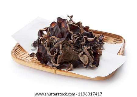 древесины уха грибы чаши продовольствие Сток-фото © Digifoodstock