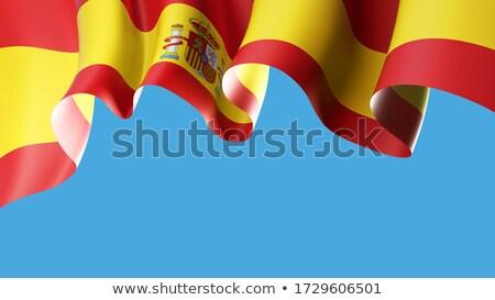 スペイン フラグ 空 食品 にログイン ストックフォト © doomko