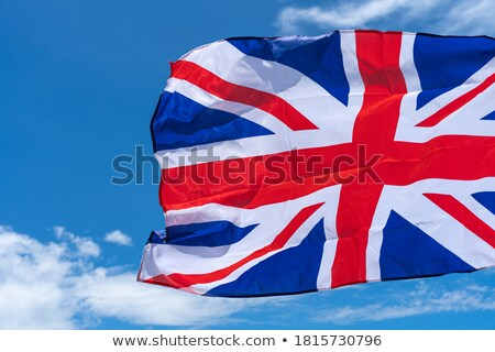 UK LONDON  element on flag with sky background stock photo © doomko