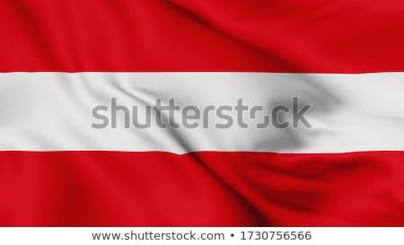 Bandeira Áustria elementos camadas Foto stock © nazlisart