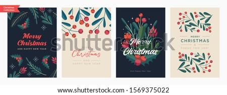 Retro Christmas Card Stock photo © cammep