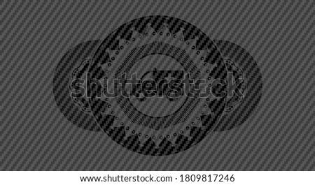 Siyah karbon fiber endüstriyel doku dizayn sanayi Stok fotoğraf © SArts