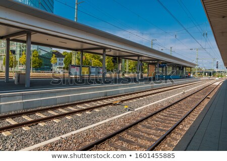 City of Nice central train station view Stock photo © xbrchx