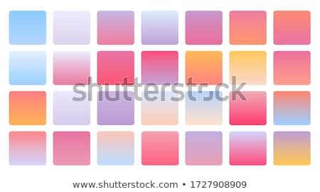soft pastel color gradients combination mega set  Stock photo © SArts
