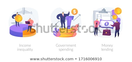 Government spending abstract concept vector illustration. Stock photo © RAStudio