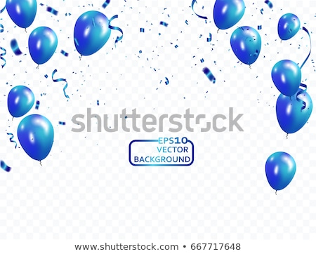 Blue ballon Stock photo © pixelman